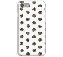 Rubik's Cube Pattern iPhone Case/Skin