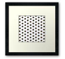 Rubik's Cube Pattern Framed Print