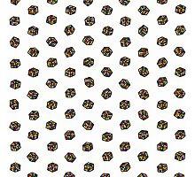 Rubik's Cube Pattern Photographic Print
