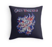 Grey Wardens Throw Pillow