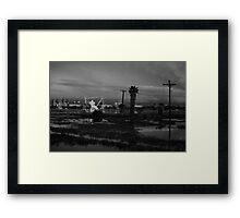 Oil Fields Framed Print