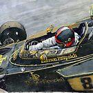1972 Monaco GP Emerson Fittipaldi Lotus72 D by Yuriy Shevchuk