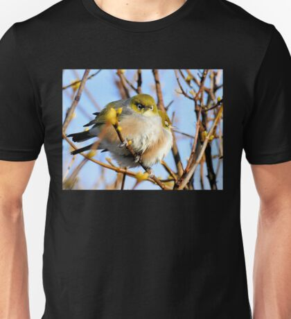 Snuggle Time - Silvereyes - NZ Unisex T-Shirt