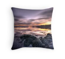 Clyde Sunrise Throw Pillow