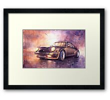 Porsche 911 Turbo 1979 Framed Print