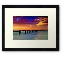 """Evening Impressions"" Framed Print"