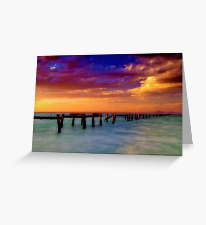 """""""Evening Impressions"""" Greeting Card"""