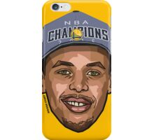 TEAM CURRY - Nba Champions 2015 - SMILE DESIGN iPhone Case/Skin