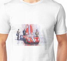 Ferrari 206 SP Dino 1966 Nurburgring Pit Stop Unisex T-Shirt