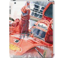 Scuderia Ferrari Marlboro F 2001 Ferrari 050 M Schumacher winner 2002 F1 season iPad Case/Skin