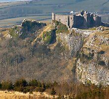 Carreg Cennen Castle in Carmarthenshire by Nick Jenkins