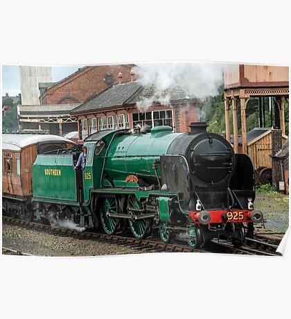 Cheltenham, Steam Engine 925 Poster