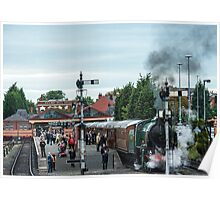 Kidderminster Steam Railway Station Poster