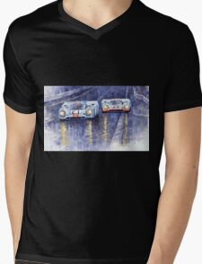 Gulf-Porsche 917 K Spa Francorchamps 1970 Mens V-Neck T-Shirt