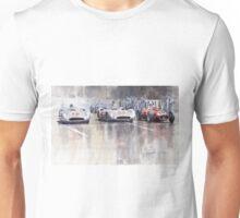 French GP 1954 MB W 196 Meserati 250 F Unisex T-Shirt
