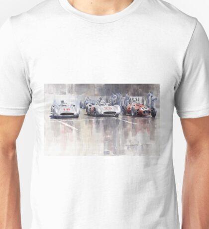 French GP 1954 MB W 196 Meserati 250 F Unisex T-Shirt