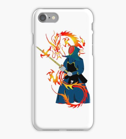 Martial Arts, Fighting Dragon Art iPhone Case/Skin
