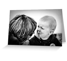 Tell Nana All About It Greeting Card