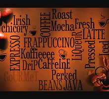 Wordle Color of Coffee by Carmen Holly