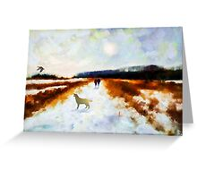 Broadland walk'... Greeting Card