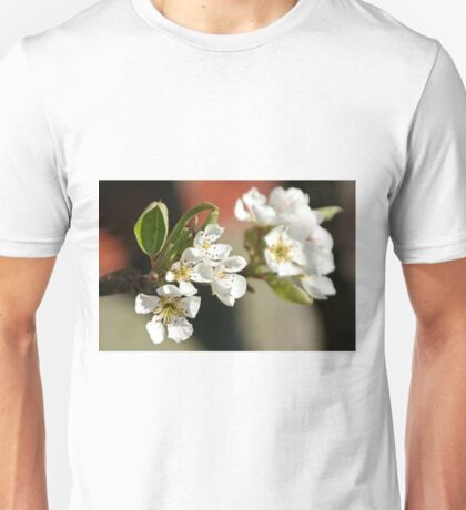 Pear Tree Blossom Unisex T-Shirt