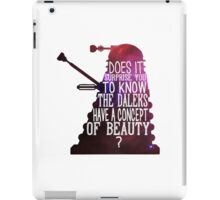 A Concept of Beauty... iPad Case/Skin