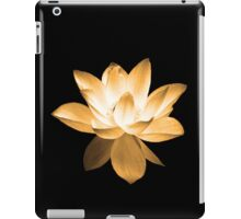 7 DAY'S OF SUMMER-YOGA ZEN RANGE- ORANGE LOTUS iPad Case/Skin