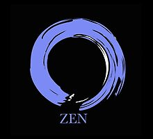 7 DAY'S OF SUMMER-YOGA ZEN RANGE- BLUE ENSO by 7 days of Summer