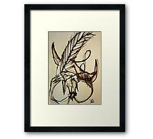 PREDICAMENTS. No. 10 Framed Print