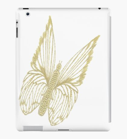 Gilded Butterfly see also Golden Butterflies iPad Case/Skin