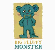 Big Fluffy Monster Kids Clothes