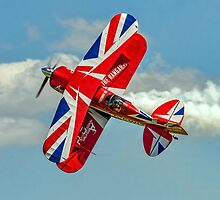 """""""The Muscle Biplane"""" on the Knife-edge by Colin Smedley"""