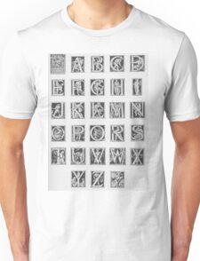 Godfrey Sykes Alphabet Unisex T-Shirt