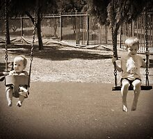 Childs Play - Swinging in the park by boofuls