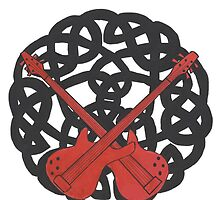 Dueling Guitars by redqueenself