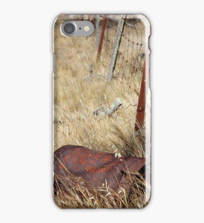 Rusty Drum iPhone Case/Skin