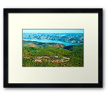 Koolan Island Camp 2013 Framed Print