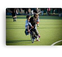 Hockey Canvas Print