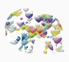 ELEPHANT OF LOVE One Piece - Short Sleeve