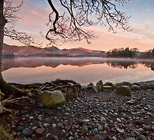 Derwent water on a still and frosty morn' by Shaun Whiteman