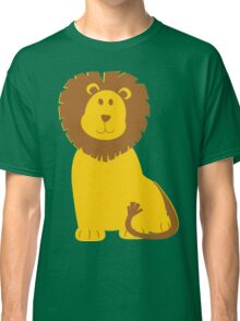 Cartoon Lion Classic T-Shirt