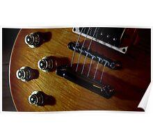 Guitar Icon : '59 Flametop Les Paul (off-camera flash) Poster