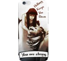 Tarot Greeting Card - You are strong iPhone Case/Skin