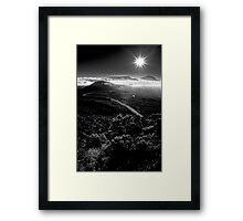 The Piton of Snow Framed Print