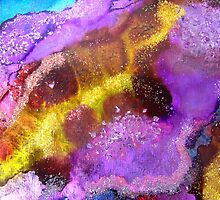 Infinite Sky III - Nebula Galaxy Universe Original Painting  by GeminiMoon
