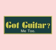 Got Guitar Me Too Kids Clothes