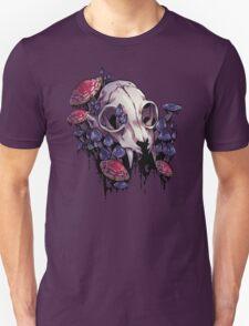 Skulls and Mushrooms Unisex T-Shirt