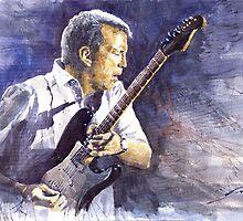 Jazz Eric Clapton by Yuriy Shevchuk