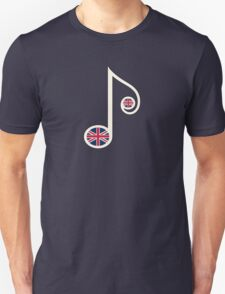 UK Music Note  T-Shirt