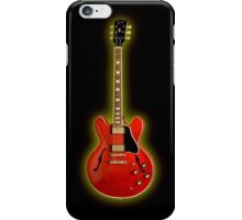 Wonderful Red Gibson ES iPhone Case/Skin